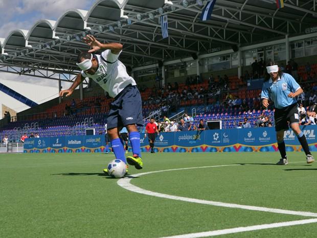 Marquinhos faz parte da Seleção Brasileira de Futebol de 5 e já foi usuário do Instituto dos Cegos da Paraíba (Foto: Mike Ronchi/CPB)
