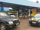 Carros com sinais de adulteração são apreendidos pela PRF em Guaraí