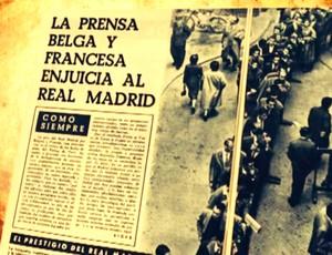 Revista do Real Madrid  (Foto: TV GLOBO)