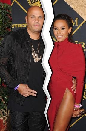 Mel B e o marido Stephen Belafonte se separam  (Foto: Agência Getty Images)