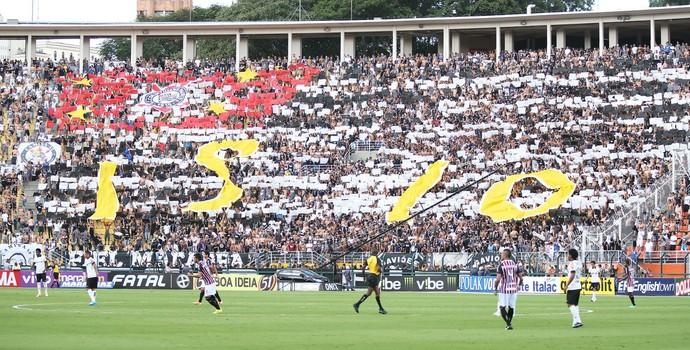 Mosaico Corinthians (Foto: Marcos Ribolli/GloboEsporte.com)