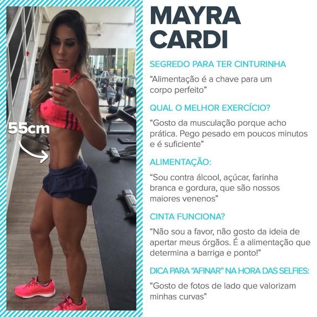 Cinturinhas - Mayra Cardi (Foto: EGO)