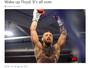 """Na semana do combate, McGregor provoca: """"Acorde. Está tudo acabado"""""""