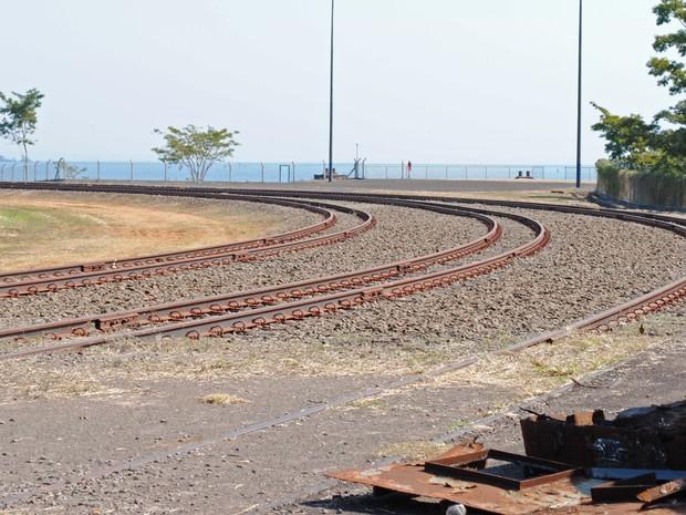 Movimentação no Porto de Presidente Epitácio é prejudicada pela ferrovia  parada (Foto  Stephanie Fonseca 3f8b7b1d13