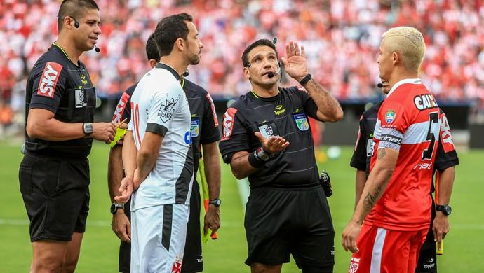 CRB x Vasco, Estádio Rei Pelé - Nenê e Olívio (Foto: Ailton Cruz/Gazeta de Alagoas)