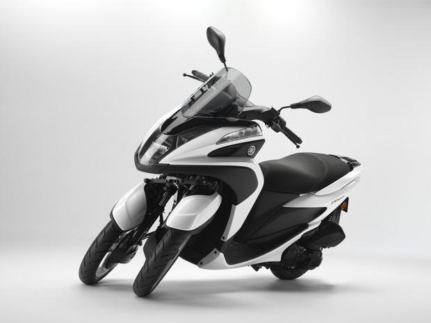 g1 yamaha lan a tricity seu primeiro scooter de tr s rodas not cias em motos. Black Bedroom Furniture Sets. Home Design Ideas