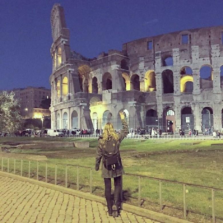 Coliseu de Roma (Foto: Arquivo Pessoal/Megan Sullivan)