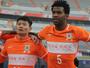 Na estreia de Gil, Shandong goleia com gols de Tardelli e Montillo