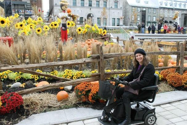 Em Quebec, no Canadá (Foto: Arquivo pessoal)