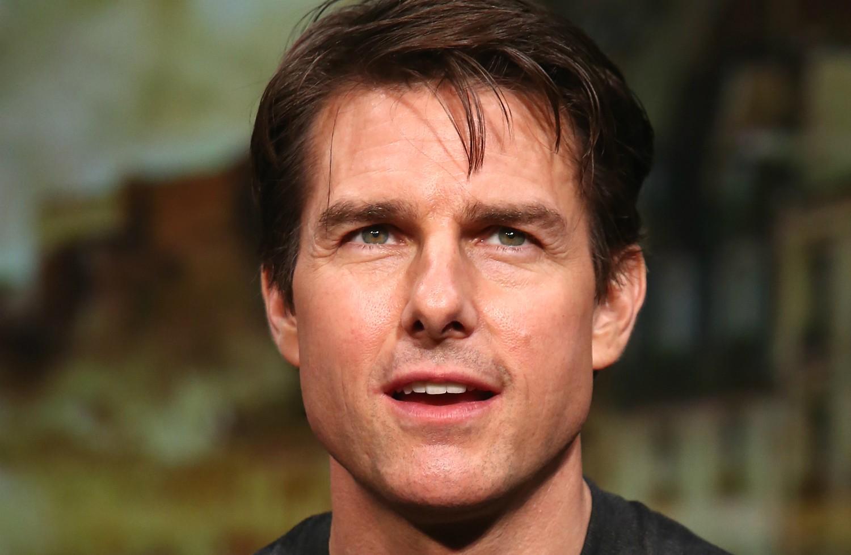 Tom Cruise era seminarista e tinha tudo para ser padre, mas foi pego trazendo álcool para dentro do seminário. Hoje o ator é fervoroso adepto da cientologia. (Foto: Getty Images)