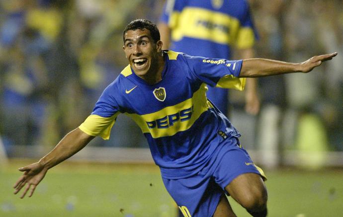 Tevez, Boca Juniors 2004 (Foto: Reuters)