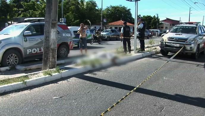 torcedor morte Clássico-Rei Ceará, Fortaleza, Castelão,  (Foto: TV Verdes Mares/Reprodução)