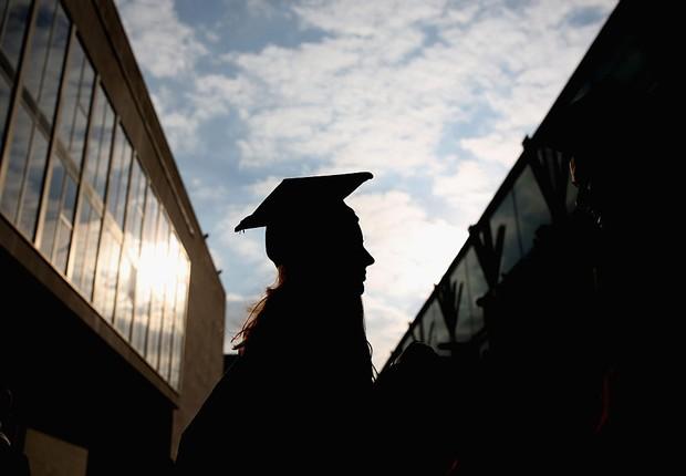 educação, formatura, faculdade, universidade (Foto: Dan Kitwood/Getty Images)