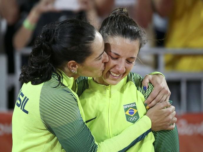 Ágatha e Bárbara final vôlei de praia (Foto: Tony Gentile/REUTERS)