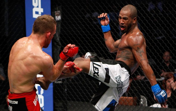 Bobby Green x James Terry mma (Foto: Getty Images)