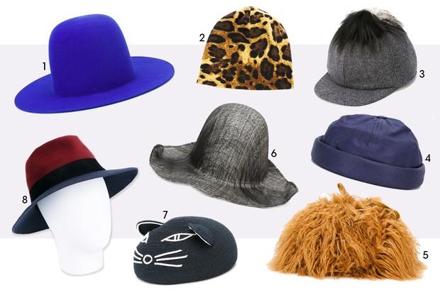 Chapéus Fashionistas (Foto: Reprodução)