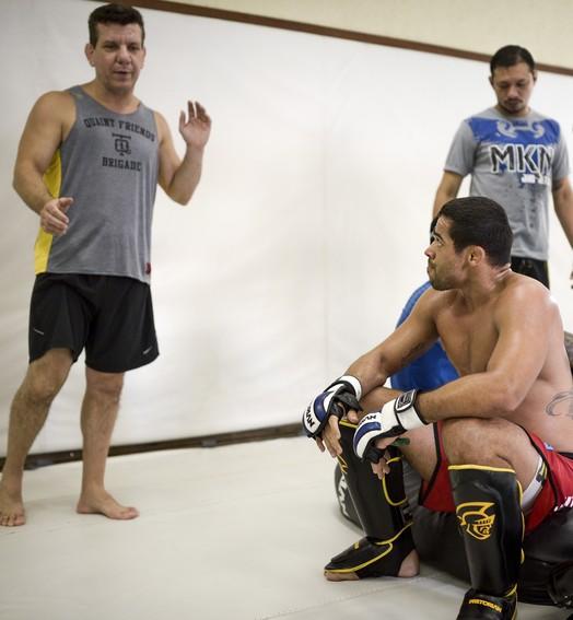 pronto  para o troco (Divulgação/UFC/Inovafoto)