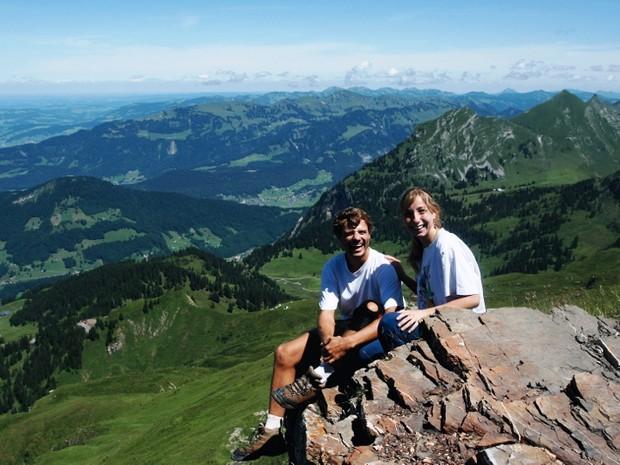 Roy e Michelle viajaram por 60 países entre 2007 e 2009 (Foto: Roy Rudnick/Arquivo Pessoal)
