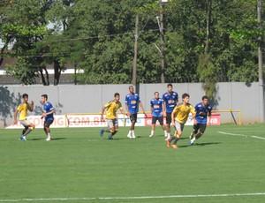 santos treino   (Foto: Marcelo Hazan / GloboEsporte.com)