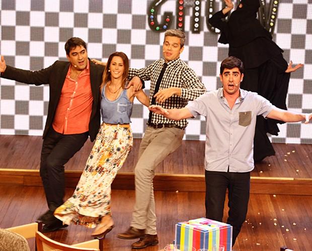 Marcelo Adnet - Vídeo Show (Foto: Inácio Moraes / TV Globo)