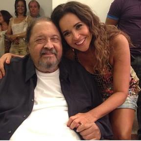 Daniela Mercury e o diretor Roberto Talma (Foto: Instagram/ Reprodução)