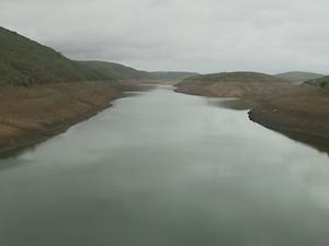 Barragem de Jucazinho (Foto: Reprodução/ TV Asa Branca)