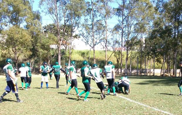 Lobos Futebol Americano (Foto: Divulgação/Lobos)