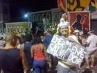 Folião dá dicas de como curtir o carnaval na pipoca: 'É diferente'