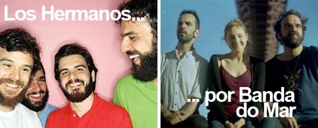 Los Hermanos por Banda do Mar (Foto: Divulgação / Pedro Trigueiro)