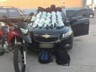 Cinco são detidos em carro roubado com cocaína em Tamoios, Cabo Frio