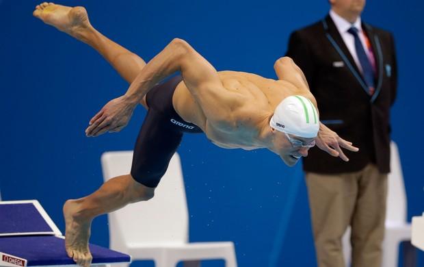Cesar Cielo 50m livres Olimpíadas 2012 (Foto: AP)