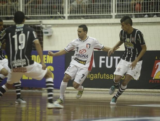 Joinville Corinthians Liga Futsal