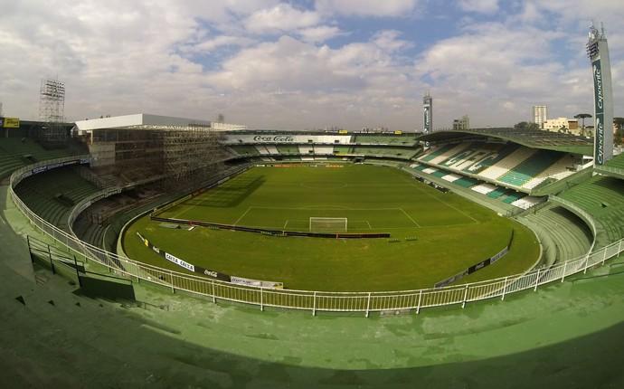 Estádio Couto Pereira, do Coritiba (Foto: Divulgação/ Site oficial Coritiba)