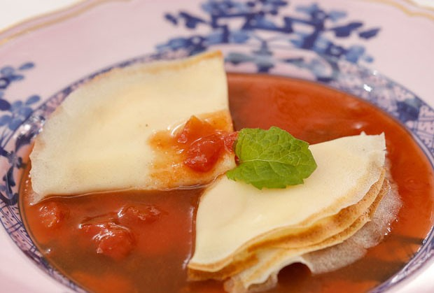 Crepe de Cheesecake (Foto: julio acevedo )