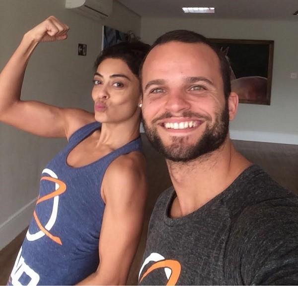 Juliana Paes treina com Rafa Lund há 2 anos  (Foto: Divulgação )