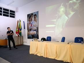Intercom Sul aconteceu na Unisul, em Palhoça, Santa Catarina (Foto: Cristiano Andujar)