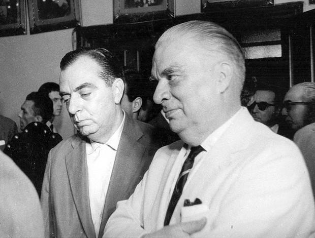 Nelson Rodrigues e Mário Filho (Foto: Arquivo Pessoal)