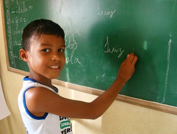 Capoeira - Criança Esperança no Piauí (Foto: Josiel Martins )