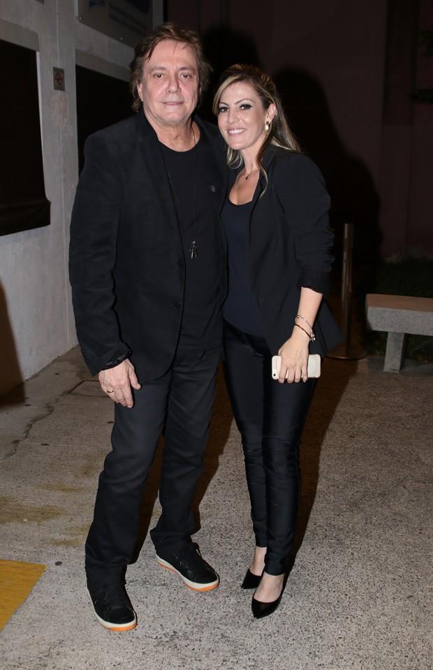 Fábio Jr e Fernanda Pascucci (Foto: Thiago Duran  / Agnews)