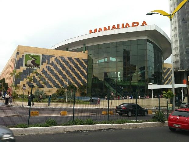 Manauara Shopping (Foto: Jamile Alves/G1 AM)