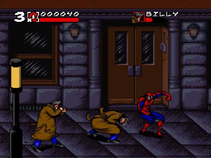 Em Maximum Carnage, o estilo beat em up reina supremo (Foto: Reprodução/Puro Pop)
