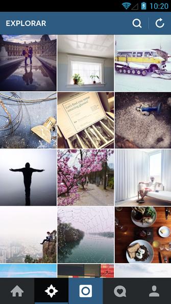 Aba 'Explorar' do Instagram agora mostra conteúdo personalizado (Foto: Divulgação/Instagram)