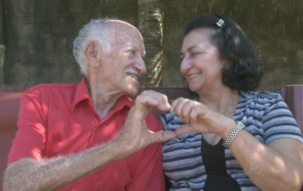 O casal falou sobre companheirismo e relacionamento. (Foto: Bom Dia Amazônia)