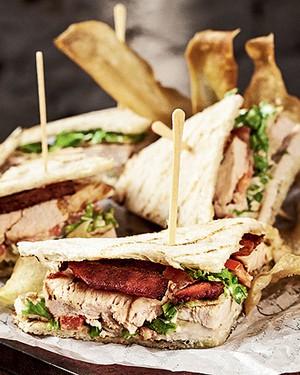 Club sandwich (Foto: Divulgação/ Rodrigo Azevedo)