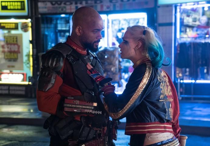 Will Smith e Margot Robbie em 'Esquadrão Suicida'