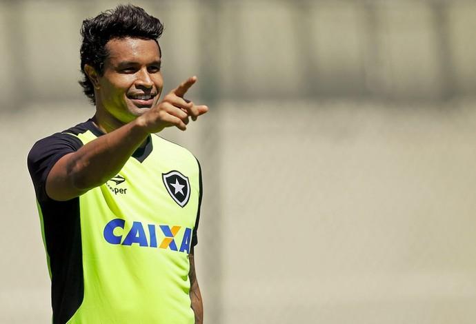 Dudu Cearense Treino Botafogo (Foto: Vitor Silva/SSPress/Botafogo)