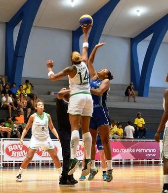 América São José Basquete LBF feminino (Foto: Robson Neves/Divulgação)