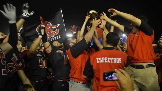João Pessoa Espectros, campeão brasileiro (Foto: Hévilla Wanderley / GloboEsporte.com/pb)