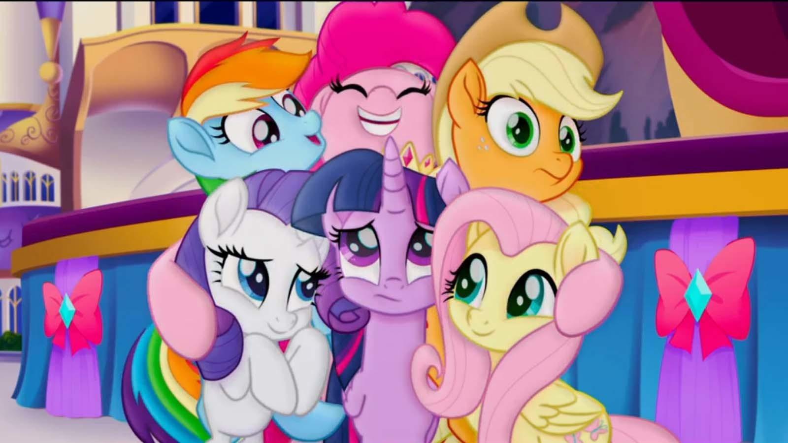 As protagonistas de 'My Little Pony' (Foto: Divulgação)