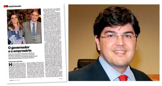 Benedito Oliveira, amigo de Carolina Oliveira e Fernando Pimentel  (Foto: Reprodução)